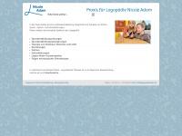 logopaedieadam.de Webseite Vorschau