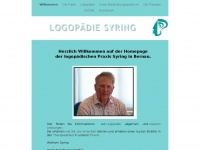 logopaediesyring.de Webseite Vorschau
