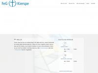 kierspe.feg.de Webseite Vorschau