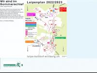 loipe-kalthof-wiliberg.ch Webseite Vorschau