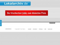 lokalarchiv.de Webseite Vorschau