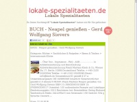 lokale-spezialitaeten.de Webseite Vorschau