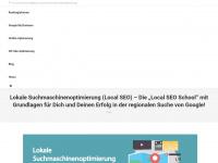 lokale-suchmaschinenoptimierung.de Webseite Vorschau