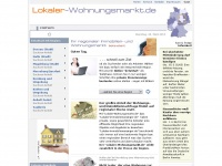 lokaler-wohnungsmarkt.de Webseite Vorschau