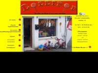 lollipop-secondhand.de Webseite Vorschau