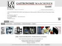 loma-gastronomie.at Webseite Vorschau