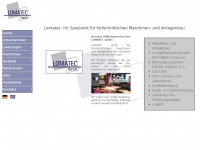 lomatecgmbh.de Webseite Vorschau