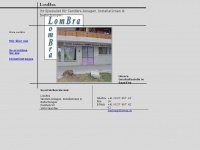 lombra.ch Webseite Vorschau
