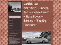londontaxi-koeln.de Webseite Vorschau