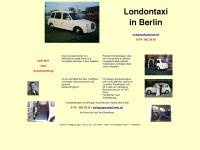 londontaxi-berlin.de Webseite Vorschau