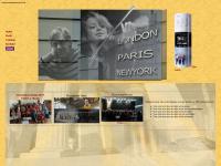 londonparisnewyork.de Webseite Vorschau