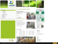 lonetal-apotheke.de Webseite Vorschau