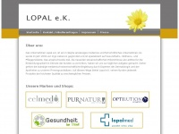 lopal.de Webseite Vorschau