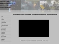 loppnow-metallbau.de Webseite Vorschau