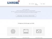 lorenz-glasbau.at Webseite Vorschau