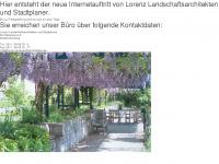 lorenz-landschaftsarchitekten.de Webseite Vorschau