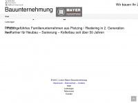 lorenz-mayer-bau.de Webseite Vorschau