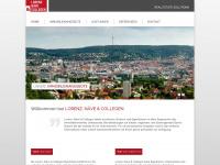 lorenz-naeve.de Webseite Vorschau