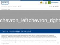 lorenz-meters.de Webseite Vorschau