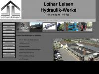 lothar-leisen.de Webseite Vorschau