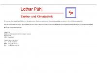 lothar-puehl.de Webseite Vorschau