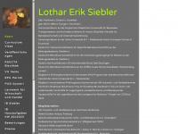 lothar-siebler.de Webseite Vorschau