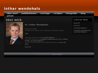 lothar-wendehals.de Webseite Vorschau