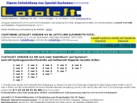 lotoleft.de Webseite Vorschau
