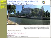 lourdespilger.de Webseite Vorschau