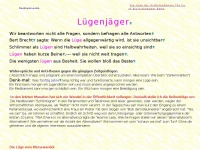 Luegenjaeger.de