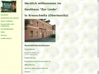 zur-linde-krauschwitz.de Webseite Vorschau