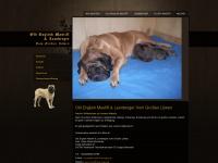 mastiff-thueringen.de Webseite Vorschau
