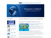 tradeboost.de Webseite Vorschau