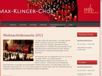 max-klinger-chor.de