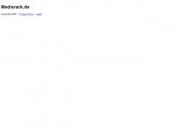 mediarack.de Webseite Vorschau