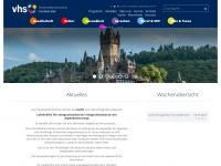 kvhs-cochem-zell.de Webseite Vorschau