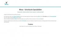 minos-olivenoel.de Webseite Vorschau