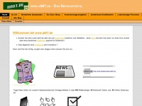 a007.de Webseite Vorschau