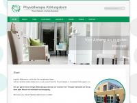 physiotherapie-kuehlungsborn.de Webseite Vorschau