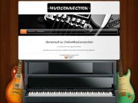 musiconnection.ch Webseite Vorschau