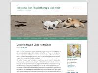 tiere-fit.de Webseite Vorschau