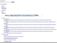 makezine.com Webseite Vorschau
