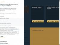hollywood.com Webseite Vorschau