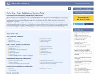 onlineshops-finden.de Webseite Vorschau