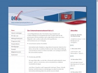 uvkiel.de Webseite Vorschau