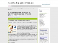 Nachhaltig-abnehmen.de