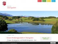 kindergarten-steingaden.de Webseite Vorschau