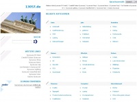 13057.de Webseite Vorschau