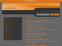1a-detektiv.de Webseite Vorschau