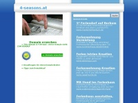 4-seasons.at Webseite Vorschau